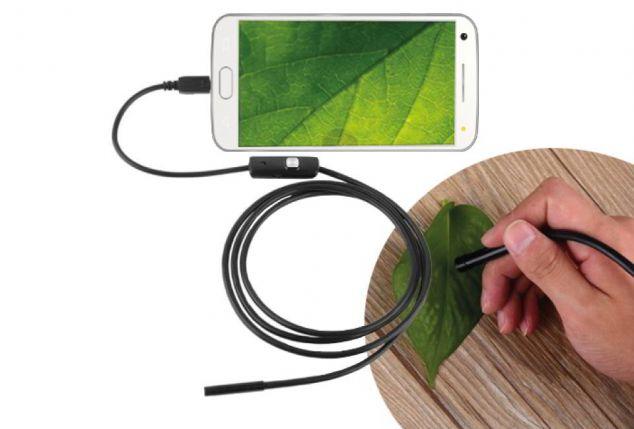 Dagaanbieding - Endoscoop HD Camera Waterdicht 5m USB dagelijkse koopjes