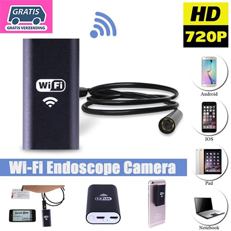 Wonderlijk WiFi Endoscoop HD LED | Waterdichte inspectie camera met LED WS-32