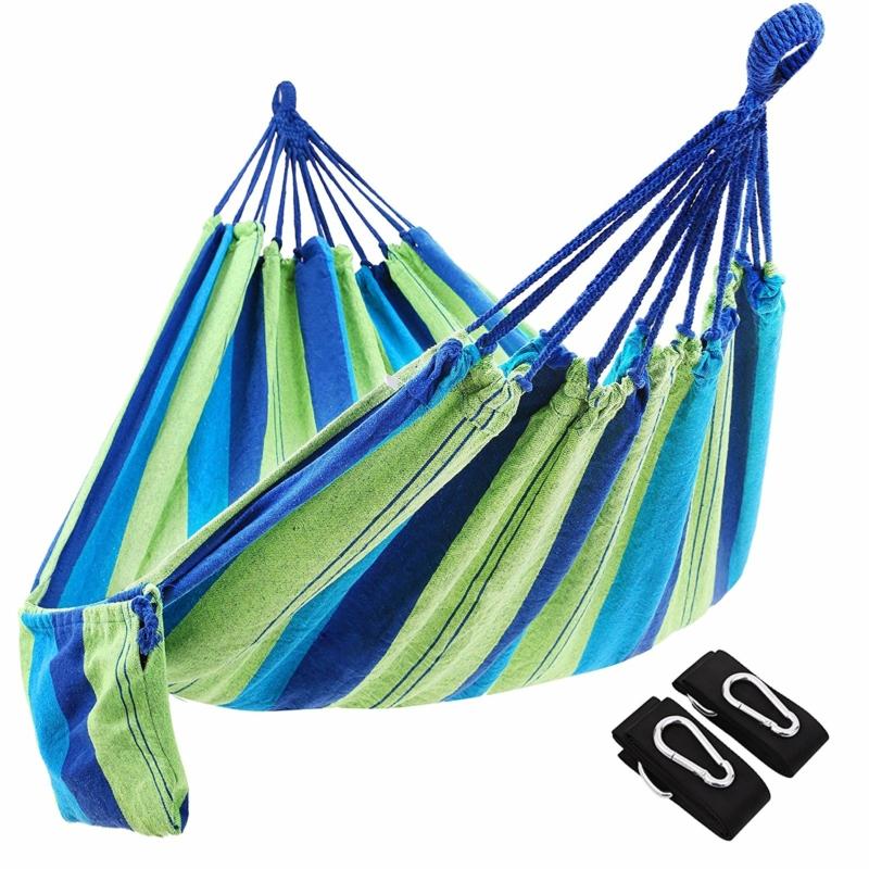 Dagaanbieding - Hangmat 210*150 Inclusief bevestigingsbanden dagelijkse koopjes
