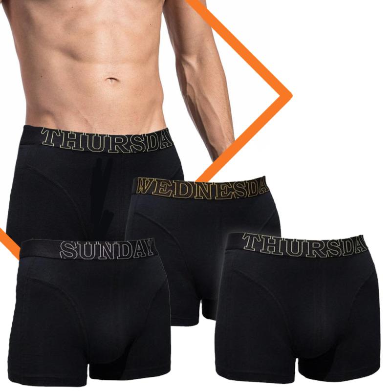 Dagaanbieding - 7 pack boxershorts | Everyday of the week by Gentlemen dagelijkse koopjes