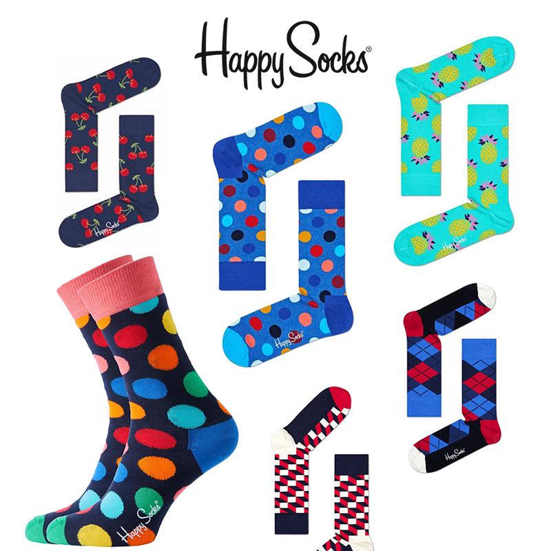 Dagaanbieding - Happy Socks verrasingspakket sokken 6 paar dagelijkse koopjes