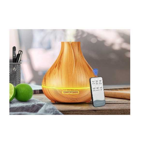 Image of iBello aroma diffuser LED met afstandsbediening - Donker