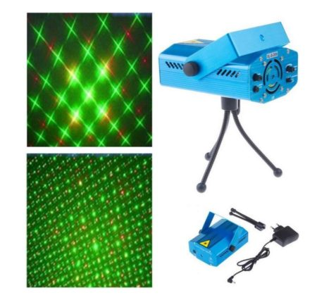 iBello disco Laser LED licht show