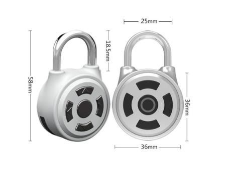 Bluetooth hangslot smartlock afmetingen