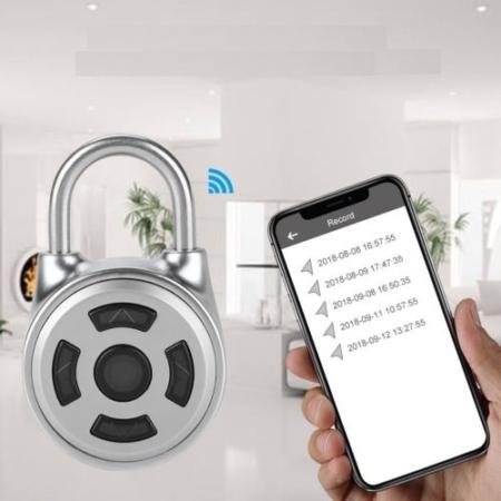 Bluetooth hangslot smartlock smartphoen