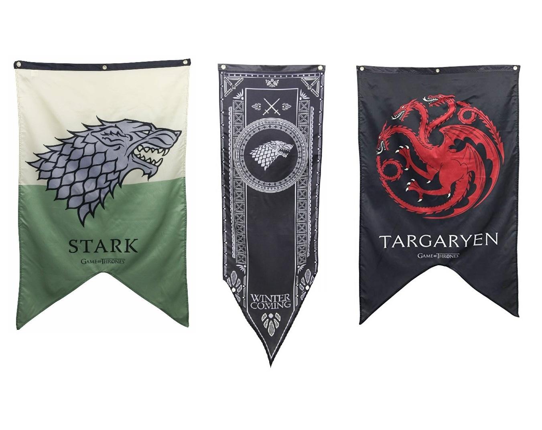 Set Game of Thrones XL vlaggen