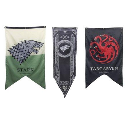 Game of Thrones vlaggen