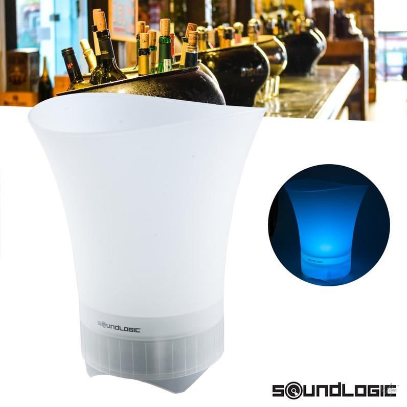 Dagaanbieding - SoundLogic bluetooth speaker en champagnekoeler dagelijkse koopjes