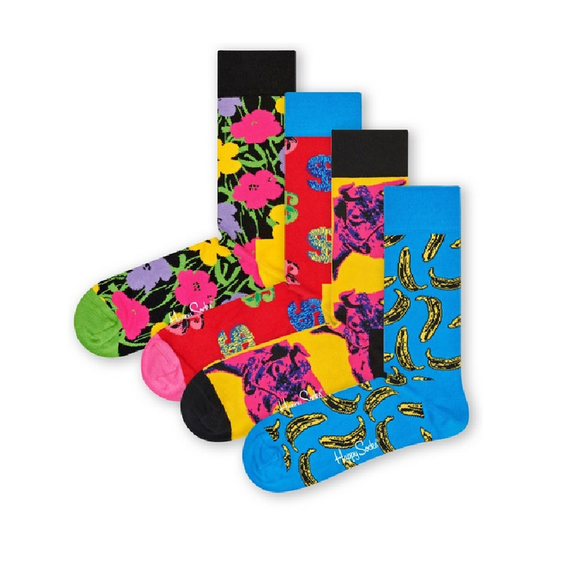 Dagaanbieding - Happy Socks Andy Warhol Limited Edition Giftbox dagelijkse koopjes