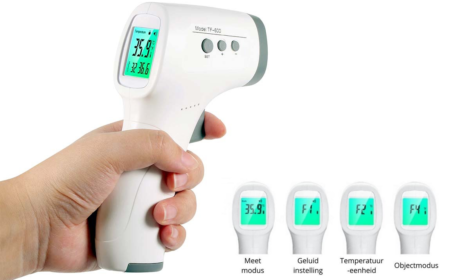 Infrarood Thermometer instellingen